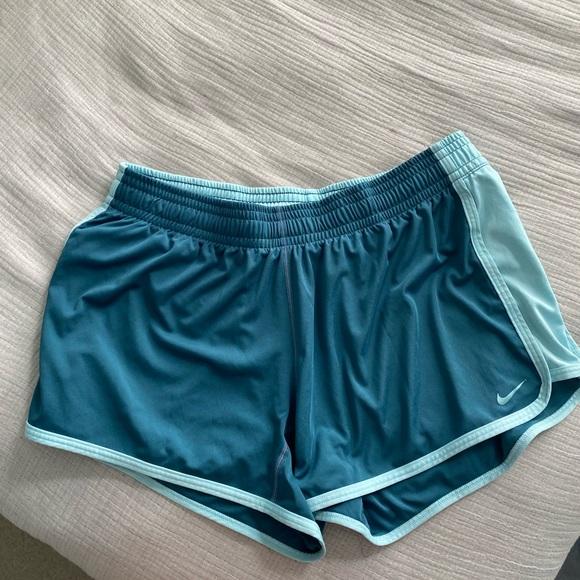 Teal Nike Shorts Size M